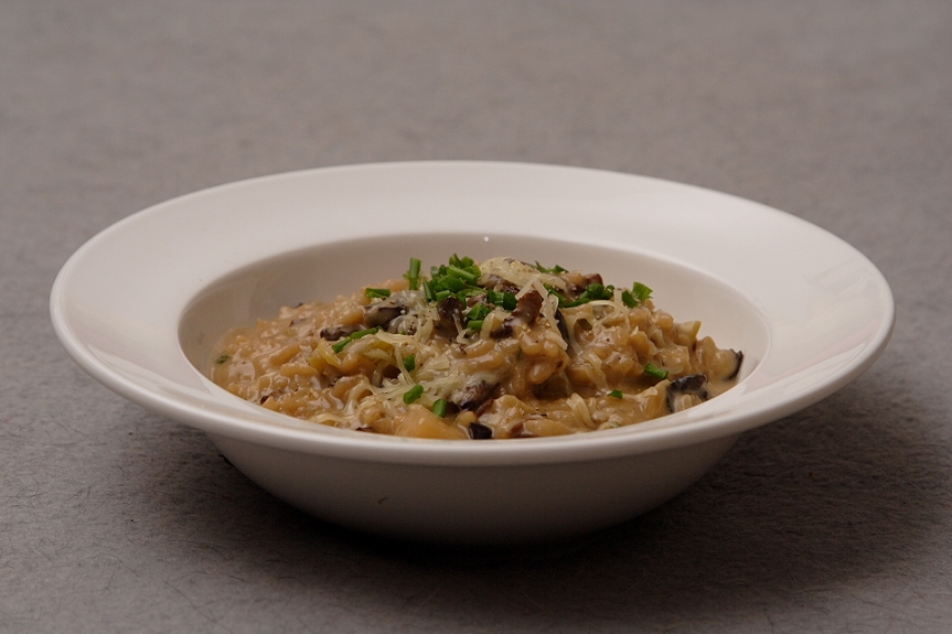 Mushroom and fennel risotto… Inspired by empty stomach and love for risotto!
